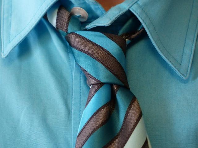 koszula krawat