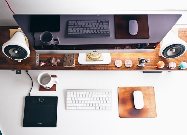 miejsce pracy biurko
