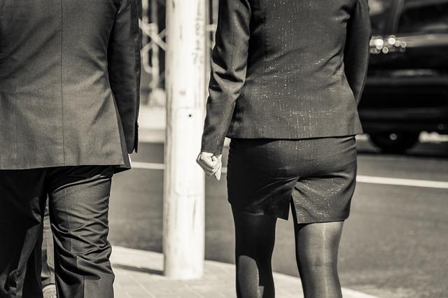 ubiór mezczyzna kobieta
